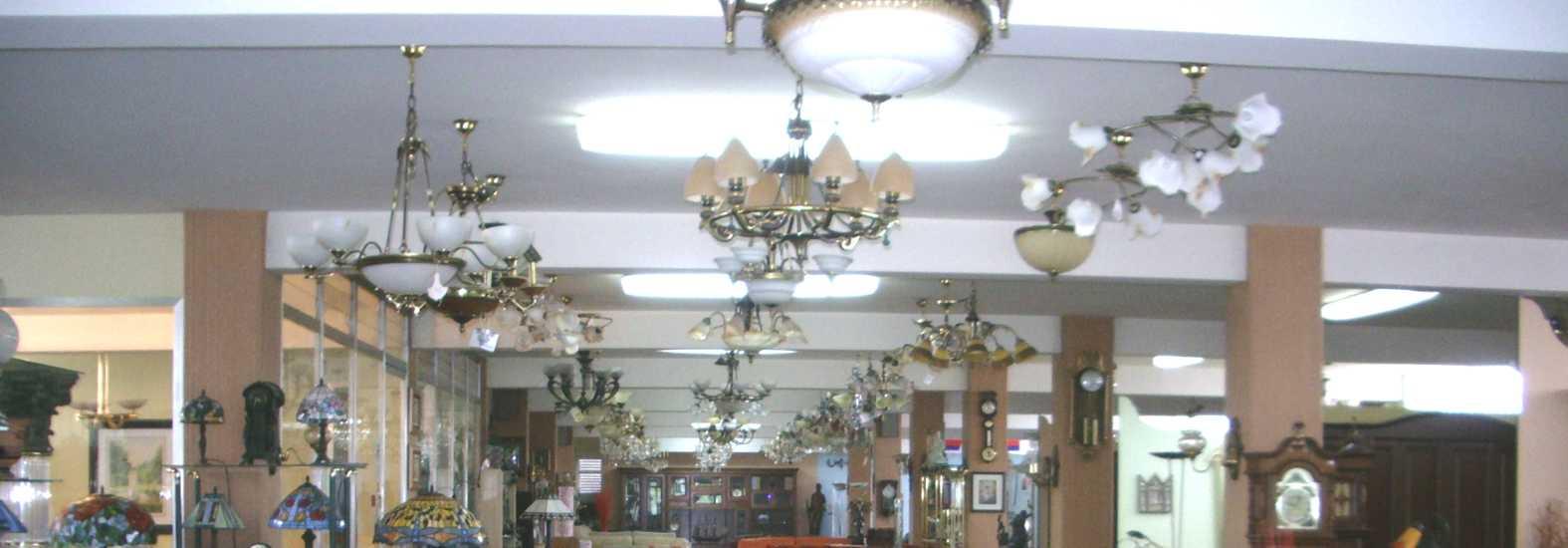 Los tipos de lmparas clsicas modernas tanto de techo como de